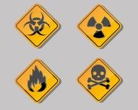 σύμβολο προειδοποίησης Στοκ εικόνα με δικαίωμα ελεύθερης χρήσης