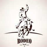 Σύμβολο ροντέο του Bull ελεύθερη απεικόνιση δικαιώματος