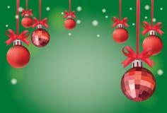 σύμβολο συλλογής Χριστουγέννων ανασκόπησης christmass Στοκ Φωτογραφία