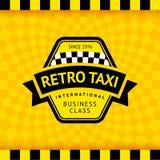 Σύμβολο ταξί με το ελεγμένο υπόβαθρο - 17 απεικόνιση αποθεμάτων