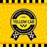 Σύμβολο ταξί με το ελεγμένο υπόβαθρο - 14 ελεύθερη απεικόνιση δικαιώματος
