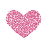Σύμβολο της αγάπης και της αγάπης Στοκ φωτογραφία με δικαίωμα ελεύθερης χρήσης