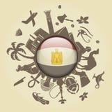σύμβολο της Αιγύπτου διανυσματική απεικόνιση