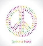 Σύμβολο της ειρήνης Στοκ Εικόνα