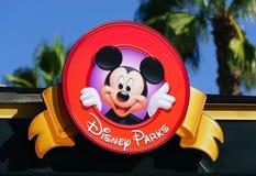 Σύμβολο του Mickey Mouse Στοκ φωτογραφία με δικαίωμα ελεύθερης χρήσης