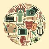 Σύμβολο των τεχνών ελεύθερη απεικόνιση δικαιώματος