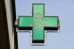 Σύμβολο φαρμακείων στοκ εικόνα με δικαίωμα ελεύθερης χρήσης