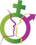 Σύμβολο φύλων Στοκ Εικόνες
