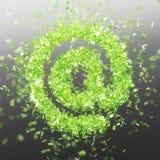Σύμβολο Ampersat @ Στοκ φωτογραφίες με δικαίωμα ελεύθερης χρήσης