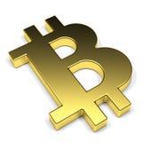 Σύμβολο bitcoin Στοκ φωτογραφία με δικαίωμα ελεύθερης χρήσης