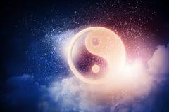 σύμβολο yang yin στοκ φωτογραφία με δικαίωμα ελεύθερης χρήσης