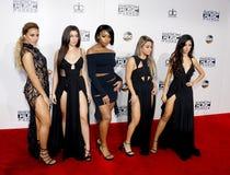 Σύμμαχος Brooke, Normani Kordei, Dinah Jane, Lauren Jauregui και Camila Cabello της πέμπτης αρμονίας στοκ φωτογραφίες