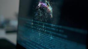 Σύνδεση επιχειρηματιών με την τεχνολογία ανίχνευσης δακτυλικών αποτυπωμάτων δακτυλικό αποτύπωμα για να προσδιορίσει την προσωπική απόθεμα βίντεο
