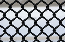 σύνδεση φραγών αλυσίδων Στοκ φωτογραφίες με δικαίωμα ελεύθερης χρήσης