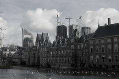 σύνθεσης πανοραμικό Κοινοβούλιο haag κρησφύγετων το ολλανδικό Στοκ Εικόνα