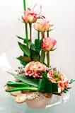 Σύνθεση ανθοκόμων τριαντάφυλλων Στοκ Εικόνες