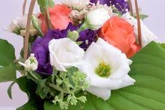 Σύνθεση ανθοδεσμών λουλουδιών στοκ φωτογραφία