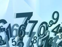 Σύνθεση αριθμών Στοκ φωτογραφία με δικαίωμα ελεύθερης χρήσης
