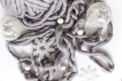 Σύνθεση διακοπών έννοιας Χριστουγέννων Στοκ Εικόνες