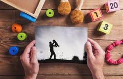 Σύνθεση ημέρας πατέρων Στοκ Φωτογραφίες