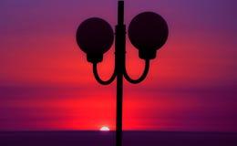 Σύνθεση ηλιοβασιλέματος Στοκ εικόνα με δικαίωμα ελεύθερης χρήσης