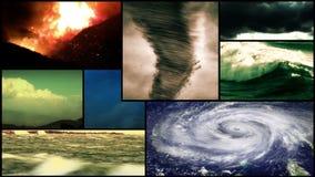 Σύνθεση καιρικού Montage θύελλας ελεύθερη απεικόνιση δικαιώματος