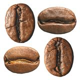 σύνθεση καφέ φασολιών Στοκ Εικόνες