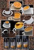 σύνθεση καφέ Στοκ Εικόνα