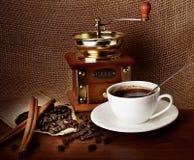 σύνθεση καφέ Στοκ εικόνα με δικαίωμα ελεύθερης χρήσης