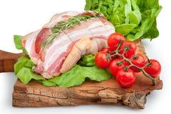 Σύνθεση κρέατος cousine τροφίμων, συστατικό για την κατανάλωση Στοκ εικόνες με δικαίωμα ελεύθερης χρήσης
