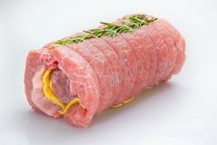 Σύνθεση κρέατος cousine τροφίμων, συστατικό για την κατανάλωση Στοκ Φωτογραφίες