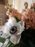 Σύνθεση λουλουδιών για το γάμο στοκ εικόνες με δικαίωμα ελεύθερης χρήσης