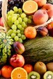 Σύνθεση με τα ανάμεικτα φρούτα Στοκ φωτογραφίες με δικαίωμα ελεύθερης χρήσης