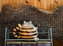 Σύνθεση με teapot Στοκ εικόνες με δικαίωμα ελεύθερης χρήσης