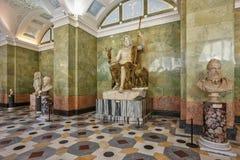 Σύνθεση Ποσειδώνας, κρατικό ερημητήριο, Αγία Πετρούπολη Στοκ Εικόνα
