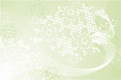 σύνθεση πράσινη απεικόνιση αποθεμάτων
