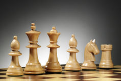 σύνθεση σκακιού Στοκ Φωτογραφία