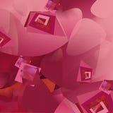 Σύνθεση στο ροζ Στοκ φωτογραφία με δικαίωμα ελεύθερης χρήσης