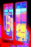 Σύνθεση των απόκρυφων μορφών και χρώματα διανυσματική απεικόνιση
