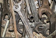 Σύνθεση των γαλλικών κλειδιών Στοκ Φωτογραφίες