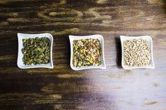 Σύνθεση των ποικίλων σπόρων Στοκ Φωτογραφίες
