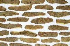 Σύνθεση των φλουδών πατατών στοκ εικόνες