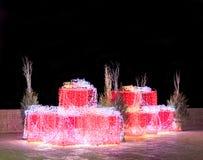 Σύνθεση Χριστουγέννων νύχτας Στοκ Εικόνες