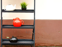 Σύνθεση Teapots Στοκ εικόνα με δικαίωμα ελεύθερης χρήσης