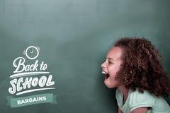 Σύνθετη εικόνα πίσω στο σχολείο στοκ φωτογραφία με δικαίωμα ελεύθερης χρήσης