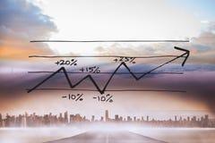 Σύνθετη εικόνα της ανάλυσης στοιχείων doodle Στοκ εικόνες με δικαίωμα ελεύθερης χρήσης