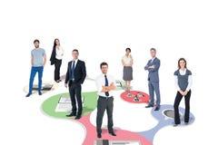 Σύνθετη εικόνα της επιχειρησιακής ομάδας Στοκ φωτογραφία με δικαίωμα ελεύθερης χρήσης