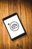 Σύνθετη εικόνα της φωτογραφίας apps Στοκ φωτογραφίες με δικαίωμα ελεύθερης χρήσης