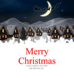 Σύνθετη εικόνα της Χαρούμενα Χριστούγεννας Στοκ Εικόνες