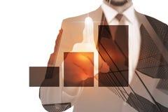 Σύνθετη εικόνα του επιχειρηματία που δείχνει το δάχτυλό του στη κάμερα Στοκ φωτογραφίες με δικαίωμα ελεύθερης χρήσης